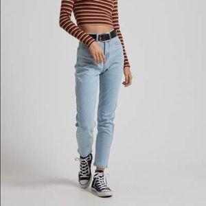 Afends Blondies Denim Slim Jeans Stone Blue 2